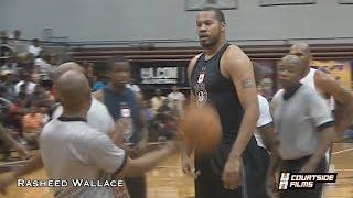 getlinkyoutube.com-40-Year-Old Rasheed Wallace STILL Has Game (16 Year NBA Veteran)