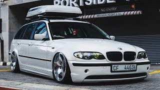 Low Abiding Citizen - Adrian's Bagged BMW E46