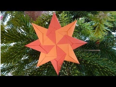 Jak zrobić świąteczne ozdoby - Papierowe Gwiazdki