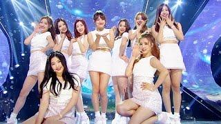 《CUTE》 gugudan (구구단) - Wonderland @인기가요 Inkigayo 20160717