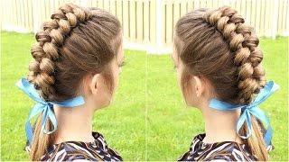 getlinkyoutube.com-DIY Dutch Infinity Braid Hair Tutorial | Braidsandstyles12