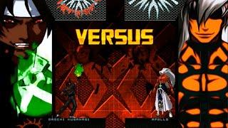 getlinkyoutube.com-Orochi Kusanagi VS. Apollo