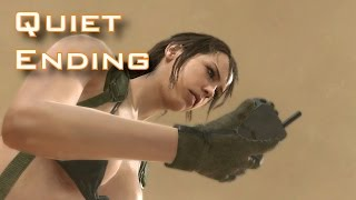 getlinkyoutube.com-MGSV: TPP - Episode 45: A Quiet Exit - Quiet Story ENDING MUST WATCH