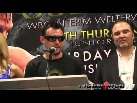 Robert Guerrero vs Andre Berto : Post fight press conference highlights