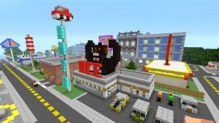getlinkyoutube.com-Minecraft Xbox 360 - Modern City - SPANKLECHANK's World Tour - Part 6