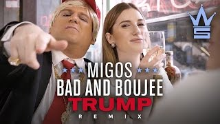 getlinkyoutube.com-Migos Bad and Boujee Trump Remix (Donald Trump Rap Parody)