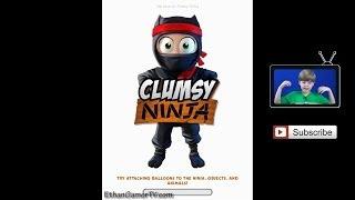 getlinkyoutube.com-Clumsy Ninja - Let's Play Mobile Games!
