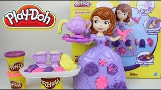 getlinkyoutube.com-Plastilina Play-Doh de la Princesa Sofia Play-Doh en Español Mundo de Juguetes