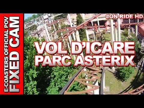 Le Vol d'Icare - OnRide - Parc Asterix (ECAM HD)