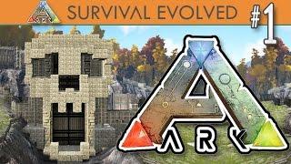 getlinkyoutube.com-ARK: Survival Evolved - Episode 1 - Pooping Evolved Server Season 2
