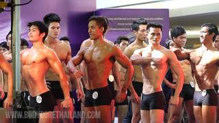 getlinkyoutube.com-Mr. Thailand 2014 - Male Model (Physique) - My first show!