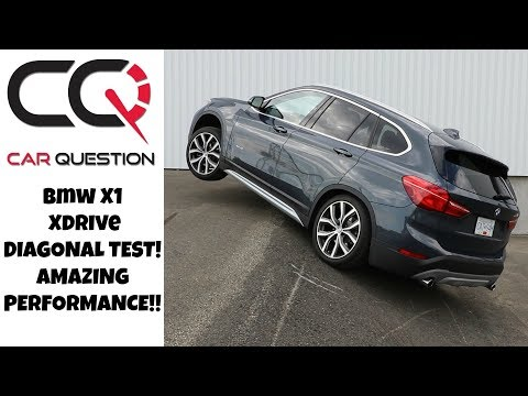 BMW X1 Xdrive DIAGONAL test! | 9 on the Scale | Review part 3