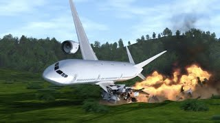 getlinkyoutube.com-Plane Crash Simulation, also from Inside