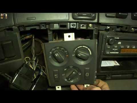 Разборка передней консоли Volvo FM,FH dismantling the front console