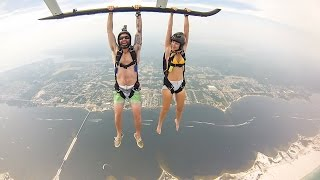 Navarre Beach Helicopter Jump