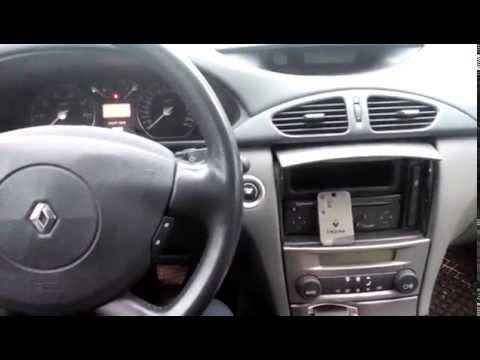 RENAULT LAGUNA II -problem with ignition