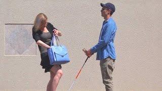 getlinkyoutube.com-Blind Man Experiment Gone Wrong