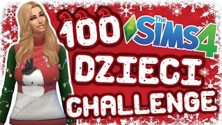 getlinkyoutube.com-THE SIMS 4 CHALLENGE 100 DZIECI #112 ŚWIĄTECZNY DOM