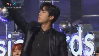 BTS JIN GETS CALLED OUT @ 2017 Melon Music Awards ???