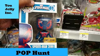 getlinkyoutube.com-Funko Pop Hunt: Search of the Punisher Thunderbolts Walgreens Exclusive, Spider-Man 2099 Hunting