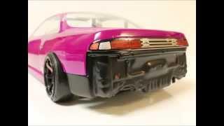 getlinkyoutube.com-EAC RC Body Build -- Nissan Silvia S14 Street Drift
