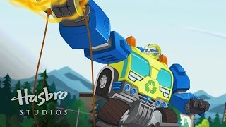 getlinkyoutube.com-Transformers: Rescue Bots - Meet Salvage