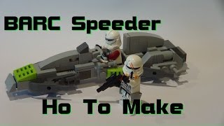 getlinkyoutube.com-HOW TO MAKE  /-/  LEGO BARC-Speeder  /-/  LEGO Star Wars