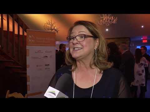 Soirée chalet chic d'Alliance Affaires Côte-de-Beaupré