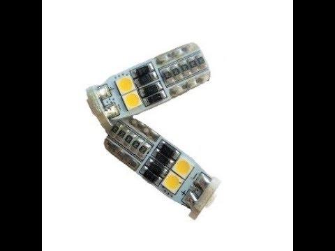 LED лампа в габариты 3G6- Т10 CanBus