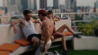getlinkyoutube.com-Sense8 1x06 Lito and Hernando Hot Gay Flirt and Make Out Scene
