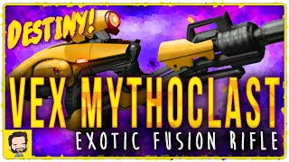 getlinkyoutube.com-Vex Mythoclast Exotic Primary Fusion Rifle | Gameplay Review | Destiny (The Taken King)