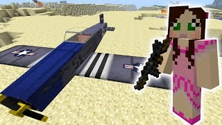 getlinkyoutube.com-Minecraft: CRAZY EXPLODING PLANES MISSION - The Crafting Dead [46]