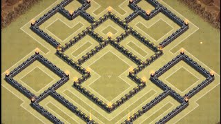 Clash Of Clans: NEW Townhall 9 War Base ll Mid-November Edition