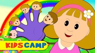 getlinkyoutube.com-Finger Family | Nursery Rhymes | Popular Rhymes from Kidscamp