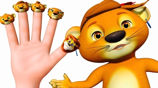 getlinkyoutube.com-Lion Finger Family And Many More | Finger Family Songs| Nursery Rhymes Collection