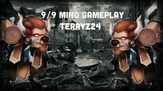getlinkyoutube.com-Minotaur 9/9 Skill Gameplay , Castle clash IGG