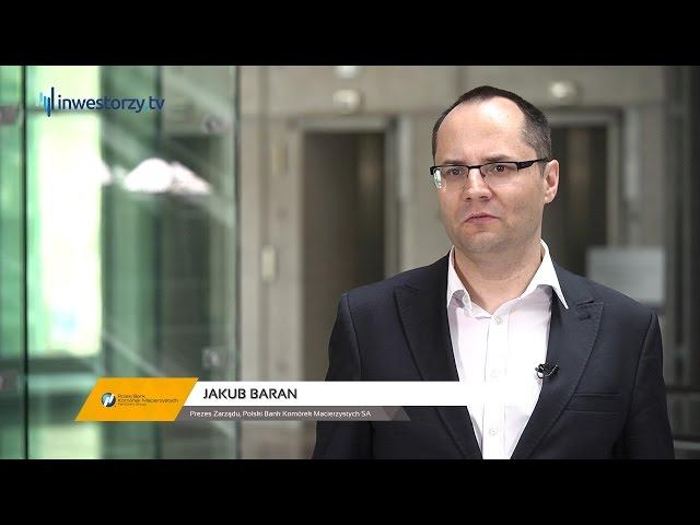 Polski Bank Komórek Macierzystych SA, Jakub Baran - Prezes Zarządu, #53 PREZENTACJE WYNIKÓW