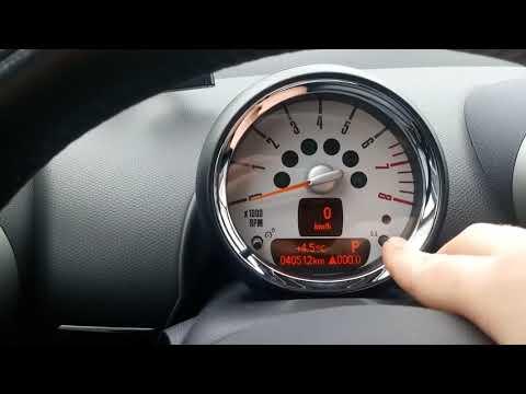 Где у Mini Клабмен датчик давления масла