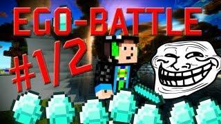 getlinkyoutube.com-Minecraft - EGO BATTLE - #1/2 - Diamantenrausch | GommeHD