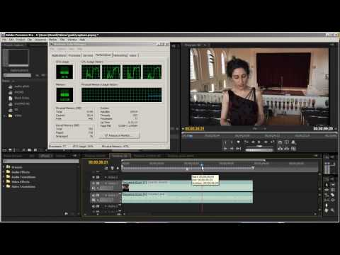 AVCHD Editing in Premiere Pro CS4