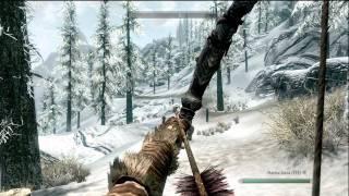 getlinkyoutube.com-Skyrim Angi's Camp - Archery Training & Skill Increases