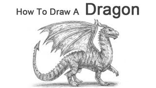 Download Video How To Draw A Dragon Step By Step