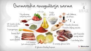 Recept za gurmansku novogodišnju sarmu