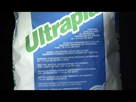 Sapa autonivelanta cu priza si uscare rapida - Ultraplan