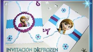 getlinkyoutube.com-Invitación de Frozen