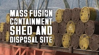 The Full Story of the Mass Fusion Containment Shed & Disposal Site - Fallout 4 Lore