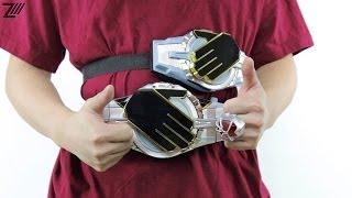 getlinkyoutube.com-Bootleg WizarDriver Demo - DX Kamen Rider Wizard - Super Robot and Finger Ring