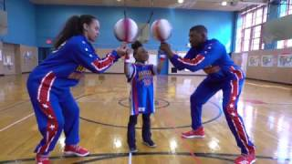 Globetrotters Surprise 7-year Old Girl Phenom