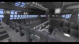 getlinkyoutube.com-Minecraft SpaceShip (high detail)