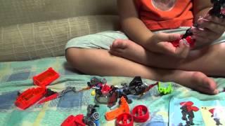 getlinkyoutube.com-히어로팩토리 퓨노 제트 머신 레고 44018 정품 장난감을 조립하는 아이